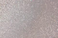 Silberner Diamantperlenhintergrund Lizenzfreie Stockfotografie