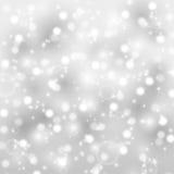 Silberner glänzender Hintergrund Stockfotos