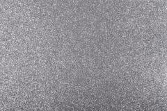 Silberner Hintergrund mit Funkeln-Beschaffenheit Stockfoto