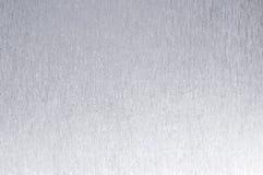 Silberner Hintergrund mit Linien und Scheinen Stockbilder