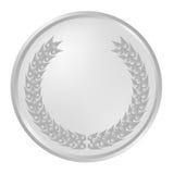 Silberner luerel Wreath vektor abbildung