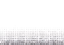 Silberner Mosaikhintergrund Stockbild