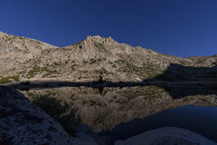 Silberner Pass See Lizenzfreie Stockfotografie
