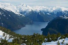 Silberner Schacht in Sitka, Alaska Lizenzfreies Stockbild