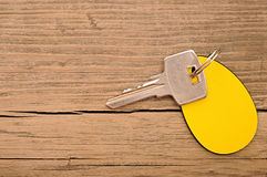 Silberner Schlüssel Stockfotos