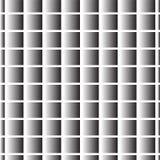 Silberner Steigungsquadrat-Kreuzhintergrund Stockbild