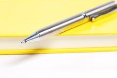 Silberner Stift Stockfotografie