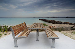 Silberner Strand, Kurnell, Australien Stockfotografie