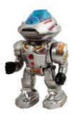 Silbernes automatisches Spielzeug Stockbilder