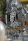 Silbernes Bodhi für beten, traditionell Lizenzfreies Stockfoto
