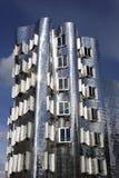 Silbernes Gebäude Lizenzfreie Stockfotografie