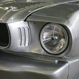 Silbernes Hotrod Lizenzfreies Stockfoto