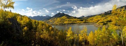 Silbernes Jack-Vorratsbehälter-Panorama Lizenzfreies Stockfoto