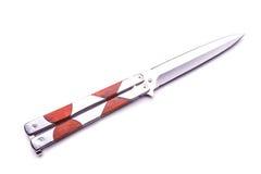 Silbernes Messer Stockfotografie