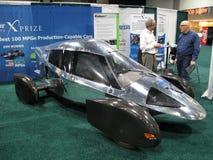 Silbernes x-Prize Fahrzeug E85 Lizenzfreies Stockfoto
