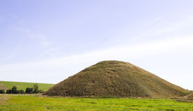 Silbury Hill Royalty Free Stock Photography