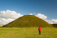 Silbury Hill Royalty Free Stock Images