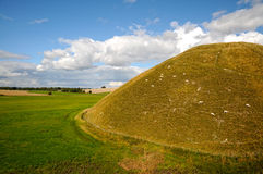 Silbury Hill Stock Image