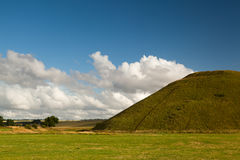 Silbury Hill Royalty Free Stock Photos