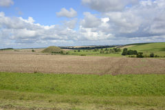 Silbury Hill in Wiltshire, England Stock Photography