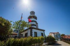 Sile-Leuchtturm, Istanbul, die Türkei Lizenzfreie Stockfotografie