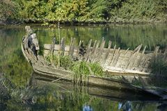 Sile river royalty free stock photography
