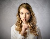Silence royalty free stock photos