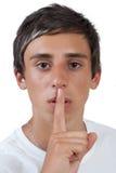 Silence Stock Image