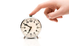Silence alarm-clock Royalty Free Stock Images