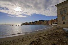 Silence bay in Sestri Levante Stock Photo