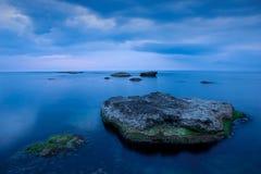 Silence bleu Images libres de droits