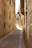 Silence City Mdina, street view, Malta Stock Images