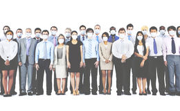 Silence Collaboration Corporate Teamwork Protection Concept Royalty Free Stock Photo