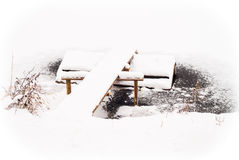 Silence d'hiver Photographie stock