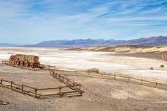 Silence de Death Valley Image stock