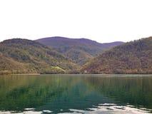 silence de lacs Photographie stock