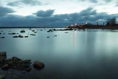 Silence de mer baltique Images libres de droits