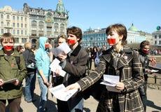 silence de saint de Pétersbourg de jour photo stock