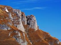 Silence parmi les collines Photo libre de droits