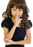 Silence please Royalty Free Stock Images