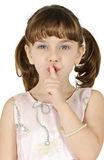 Silence sign Royalty Free Stock Photography