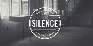 Silence Tranquil Envision Mindfulness Peace Quiet Concept Royalty Free Stock Photography