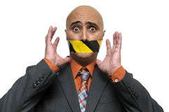 Silenced... Royalty Free Stock Photography