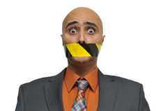 Silenced... Royalty Free Stock Photo