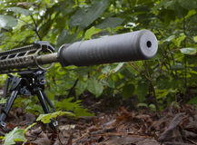 Silencer Stock Image