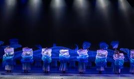 ` Silencieux de danse du ` s de vague-Huang Mingliang aucun ` d'abri Image stock