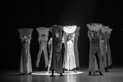 """Silencieux-fleur de  de shelter†de dance""""No du ` s de désir-Huang Mingliang Photographie stock libre de droits"""