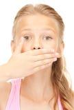 Silencio Imagen de archivo libre de regalías