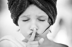 Silencio Fotografía de archivo