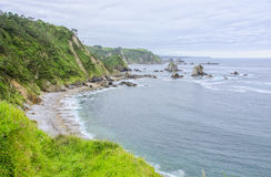 Silencio beach Stock Photography